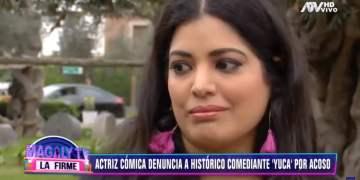 Actriz Clara Seminara lloró al recordar episodio de acoso con Yuca