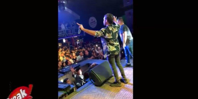 Terremoto en Perú: Ezio Oliva sorprendido por sismo en pleno concierto