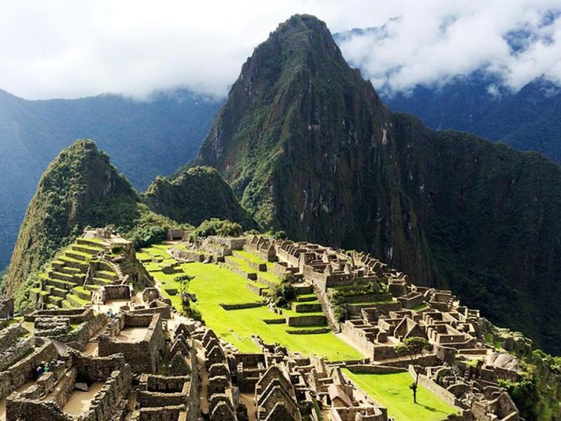 Machu Picchu será pronto marca Machu Picchu