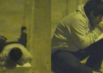 """Niño que estudiaba bajo un poste: """"Martín Vizcarra no nos ha hecho caso"""""""