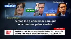 Susana Villarán y los tres palos verdes de Odebrecht en nuevo audio