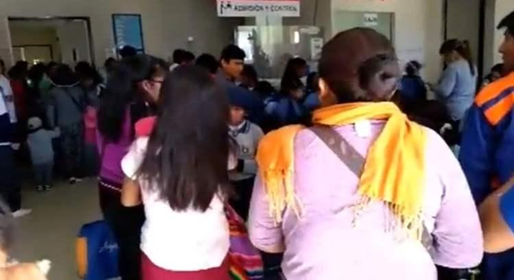 Escolares intoxicados en Moquegua se encuentran fuera de peligro