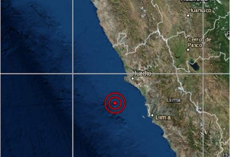 Sismo de 4.1 grados sacudió Lima y epicentro fue en Ancón