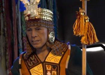 Animatronico de un Inca