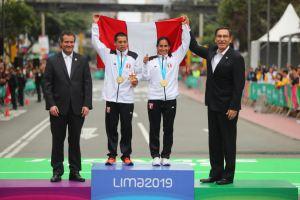 Peruanos Gladys Tejeda y Christian Pacheco 'valen oro' en Panamericanos