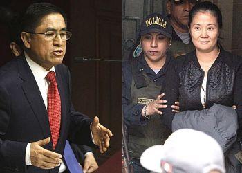 Keiko Fujimori se reunió con César Hinostroza según colaborador eficaz