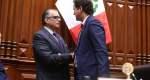 Pedro Olaechea es elegido presidente del Congreso y derrota a Salaverry
