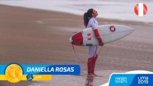 Daniella Rosas gana Oro para Perú