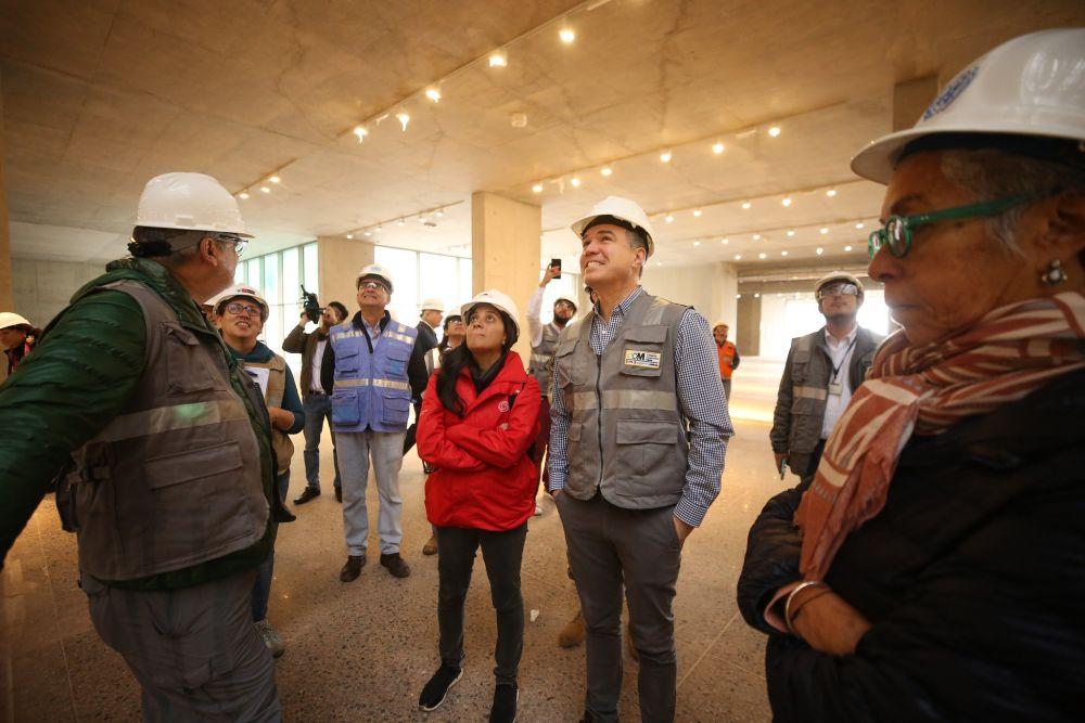 Construcción del Museo Nacional de Arqueología registra avance de 87.5%