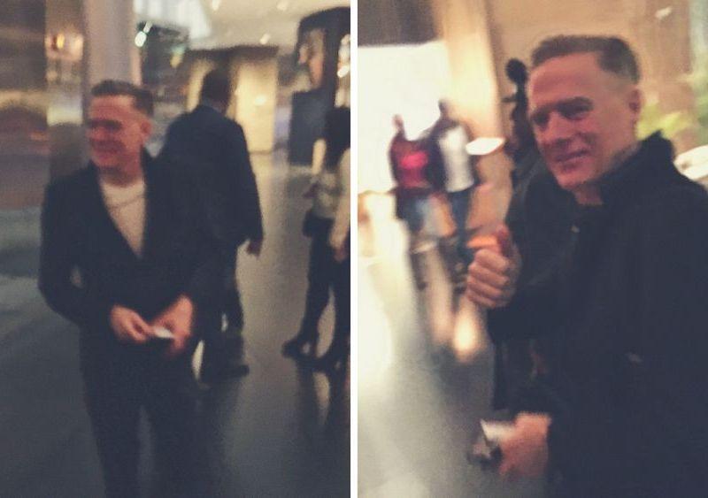 Bryan Adams llegó a Lima