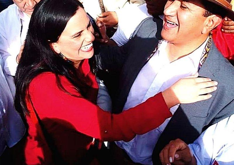 Verónika Mendoza y Vladimir Cerrón