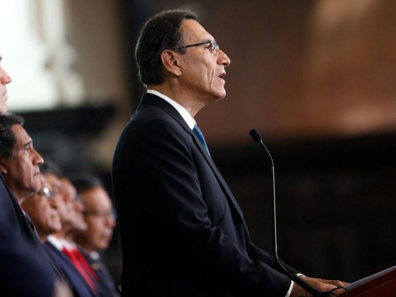 Martín Vizcarra en mensaje a la Nación