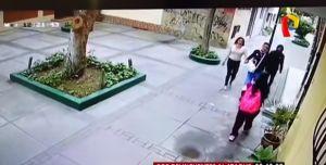 Roban celular a niña en Surco