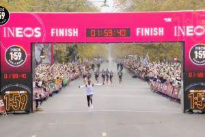 ¡Histórico! Eliud Kipchoge termina maratón en menos de dos horas