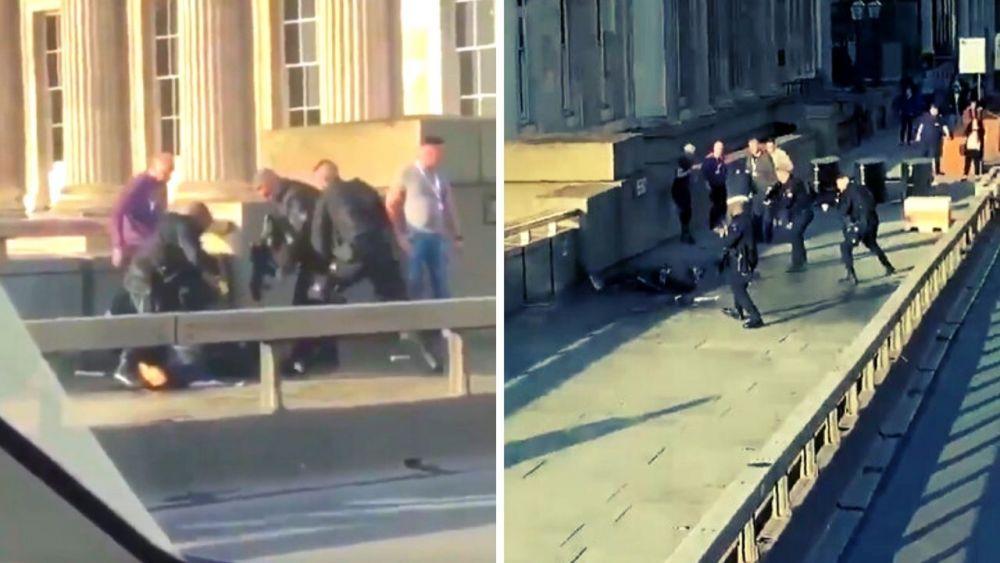 Video | Así fue abatido atacante en Puente de Londres