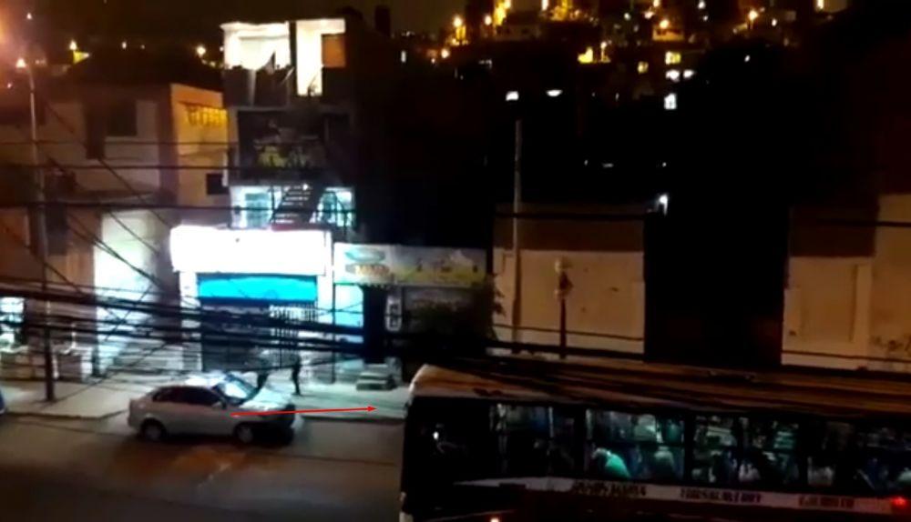 Asalto en bus en Chorrillos