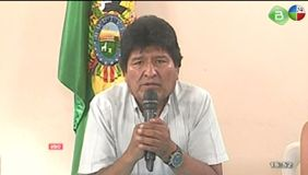 Evo Morales renuncia a su mandato presidencial