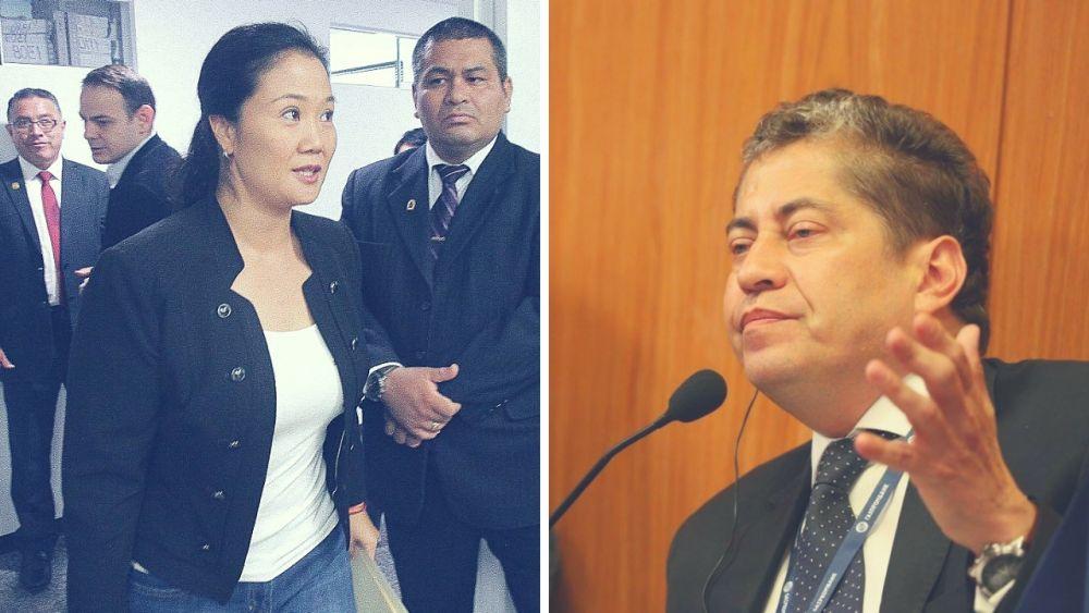 TC debe evaluar declaraciones de Jorge Yoshiyama contra Keiko Fujimori