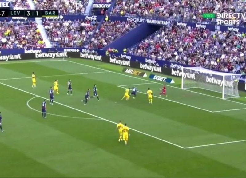 Gol anulado a Messi