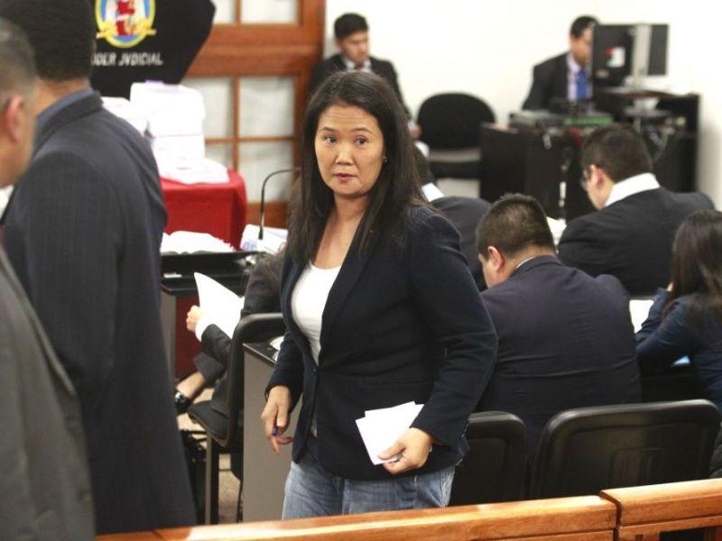 Keiko Fujimori podría salir libre