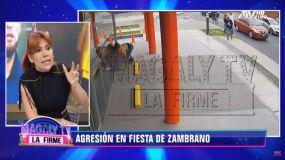Carlos Zambrano es denunciado por menor de edad y comisaría no la recibió