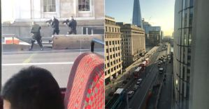 Tiroteo y heridos en puente de Londres