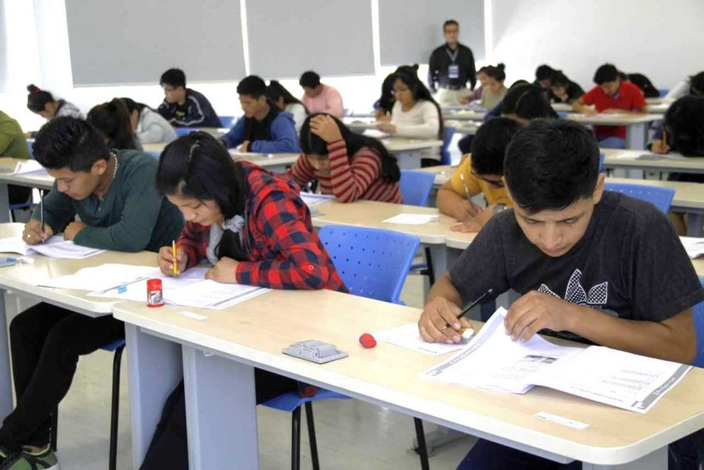 Beca 18: 71 mil Jóvenes rinden hoy el Examen Nacional de Pronabec