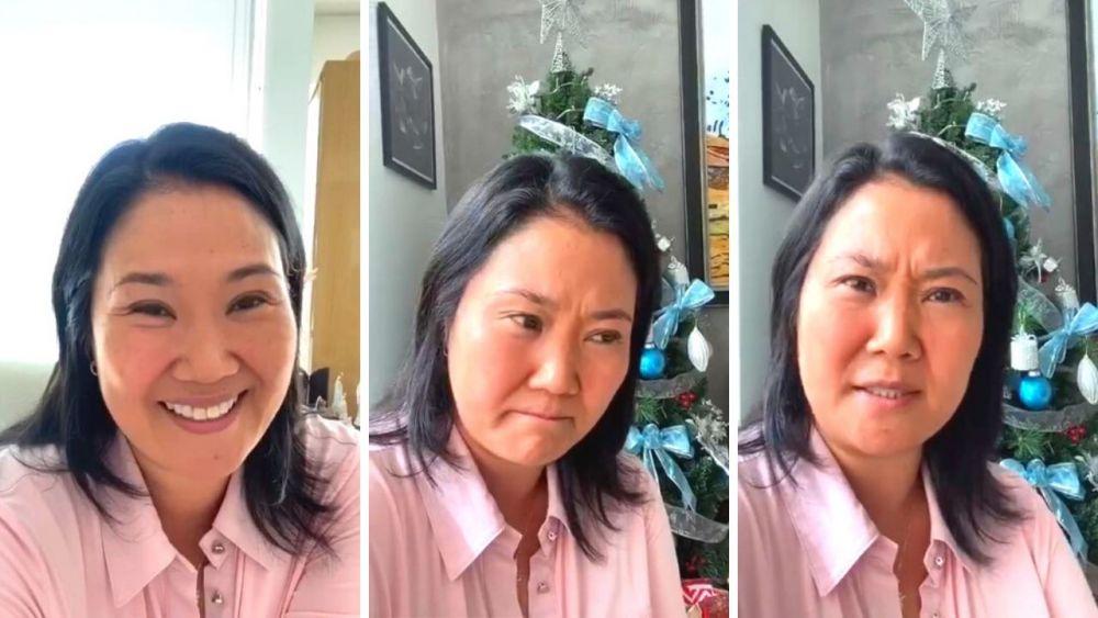 Keiko Fujimori anuncia