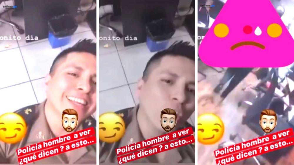 PNP investiga a policía que usaba TikTok y acosó sexualmente a compañera