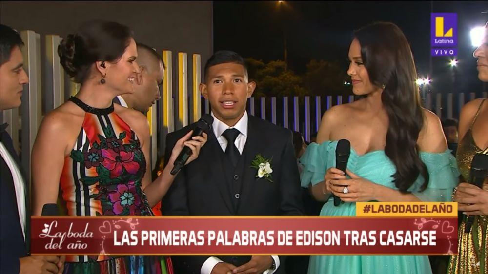 Edison Flores espera tener 11 hijos con Ana Siucho tras matrimonio