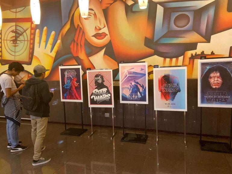 Exposición de arte cuadros inspirados en Angamos