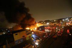 80 incendios movilizaron a los bomberos en Lima e Ica durante Navidad