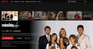 Rebelde Way llegó a Netflix y seguidores explotan en redes sociales