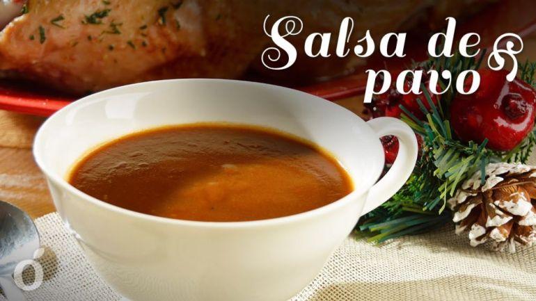 Complementar el pavo con salsa