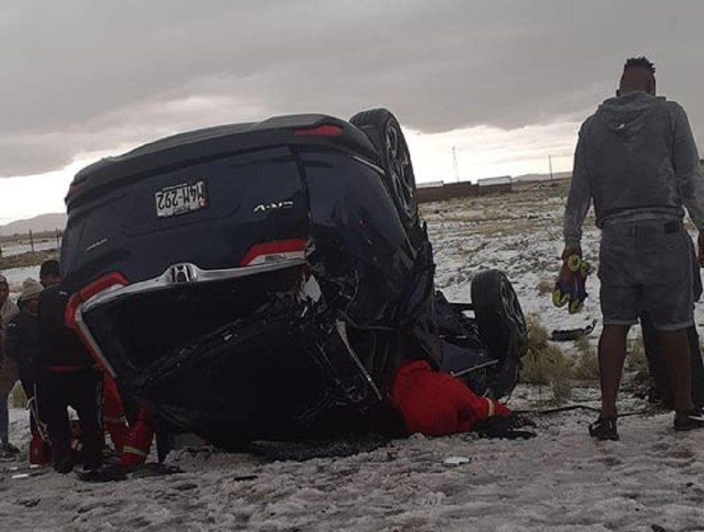 Terrible accidente en Puno con jugadores del Binacional