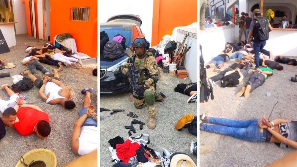Venezolanos detenidos en Punta Negra implicados en delito serán procesados y el resto expulsados