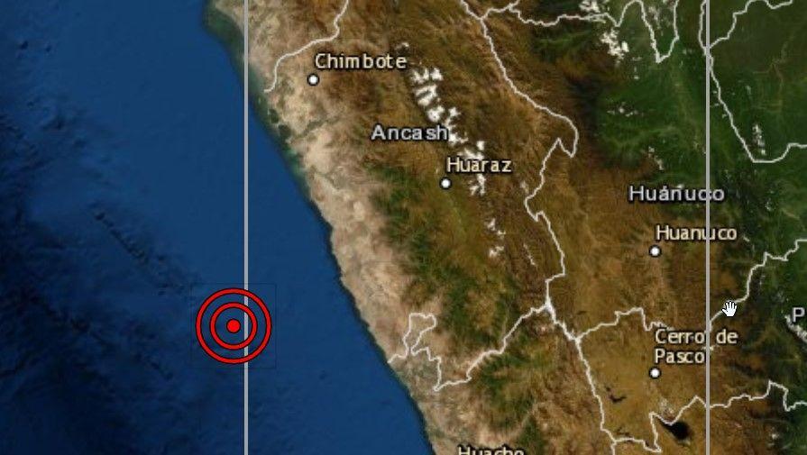 Fuerte sismo de magnitud 5.4 se registró en Áncash y se sintió en Lima
