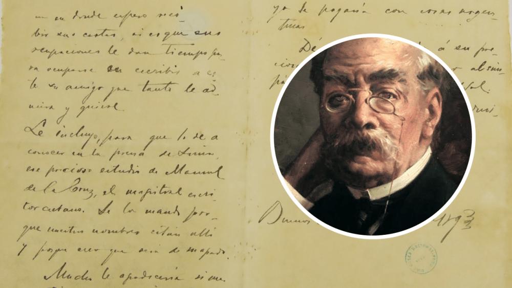 Cartas de la colección de Ricardo Palma son declaradas Patrimonio Cultural de la Nación