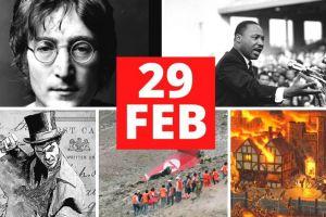 29 de febrero: Tragedias en año bisiesto incluído el coronavirus