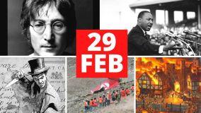 29 de febrero: Tragedias y catástrofes en año bisiesto incluído el coronavirus