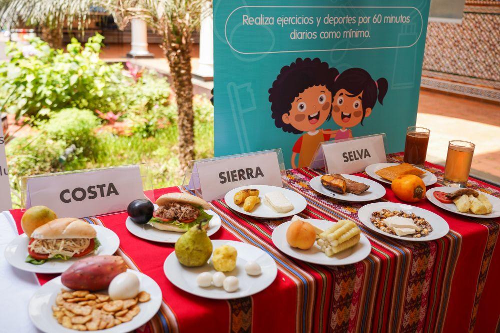 Loncheras saludables del Perú