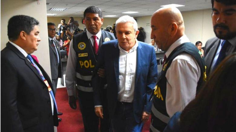 Luis Castañeda en manos de la justicia