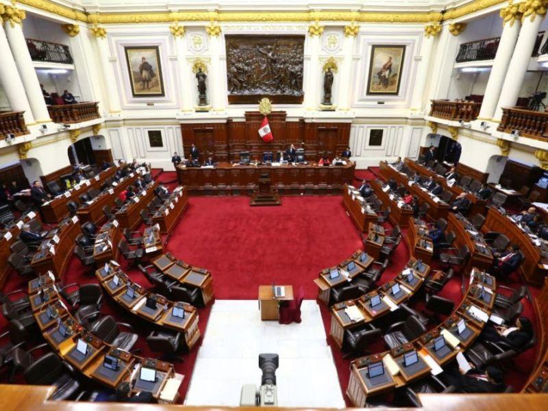 Hemiciclo Congreso de la República