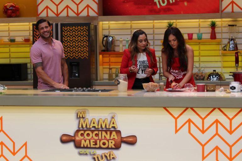 """Jazmín Pinedo en """"Mi mamá cocina mejor que la tuya"""""""
