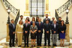 Partido Morado y presidente Martín Vizcarra