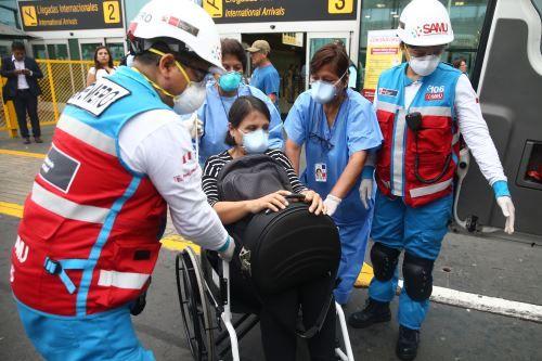 Posibles casos de Coronavirus en Perú