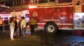 Incendio en Los Olivos