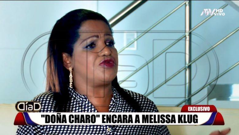 Doña Charo, madre de Jefferson Farfán