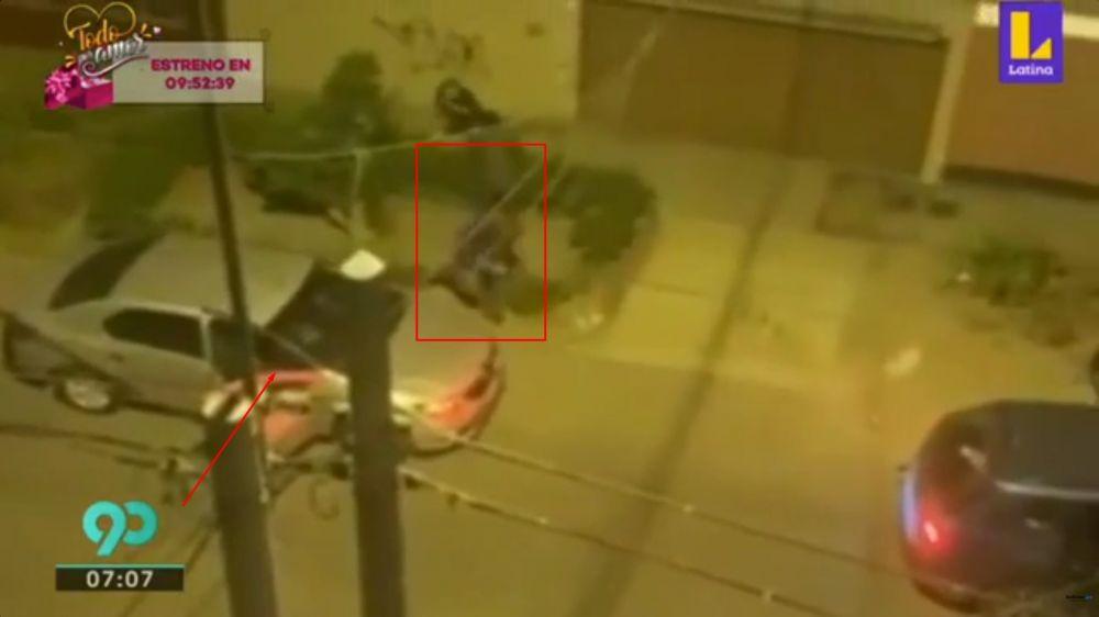 Cámaras captan violento asalto a familia en San Luis que retornaba de paseo