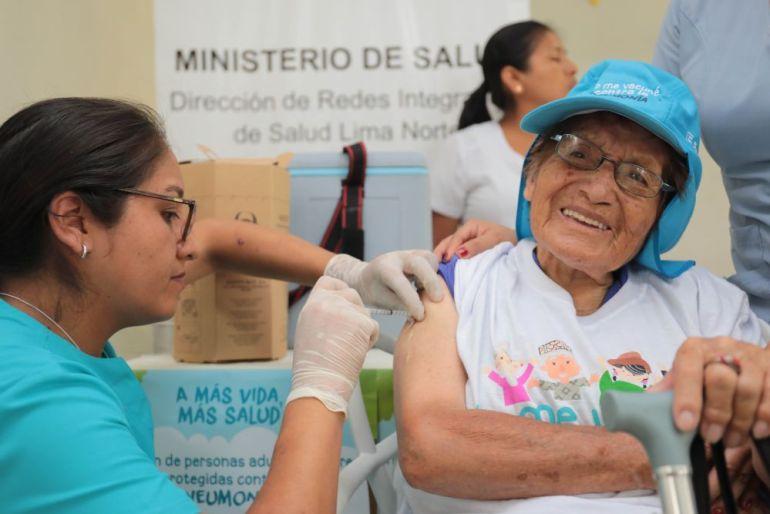 Vacunación de neumococo